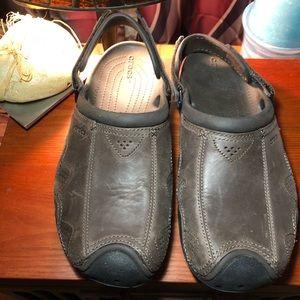 Men's Leather CROCS